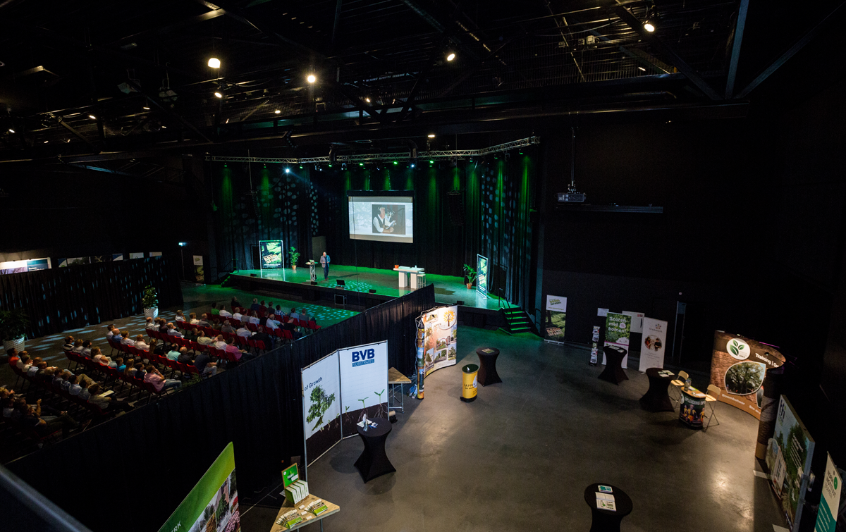 Main Hall at the Boominfodag in The Netherlands