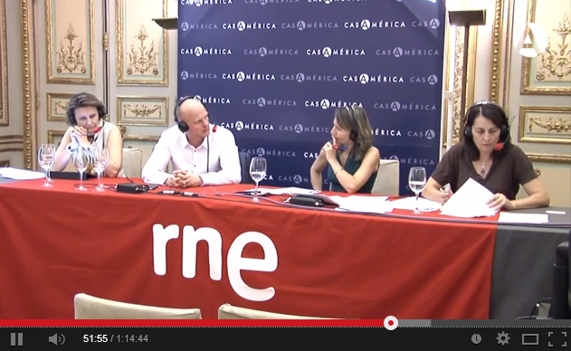 Interview with Stefan Junestrand on Radio Nacional de España (Spanish National Radio)