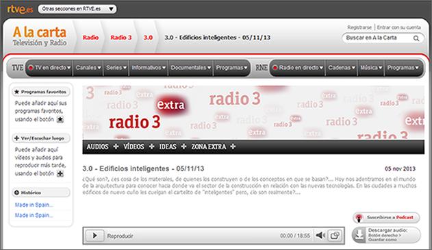 Interview with Stefan Junestrand on Radio 3 - Radio Nacional de España